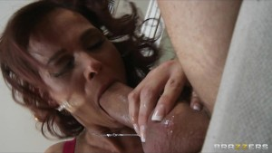 HOT redhead sex addict Syren De Mer tricked into an intervention