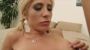 Slutty young blonde Tasha Reign daydreams about riding hard cock