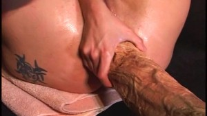 extreme dildo monster anal