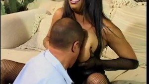 Big, black and beautiful babe gets fucked - Feline Films