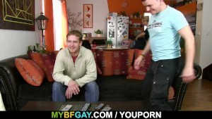 Two old friends met and fucked hard