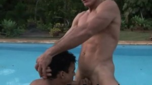 Muscled Latino Barebacked Playtime