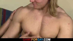 Strong man is lured into gay sex