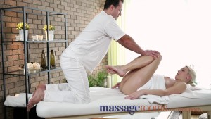 Massage Rooms Soft skinned beauty s juicy hole tingles after deep orgasm