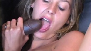 Pounded By Two Black Cocks - Anarchy