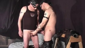 Two Big Bears Sucking Cock - Pig Daddy Productions