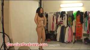 Real czech teen in hot backstage clip