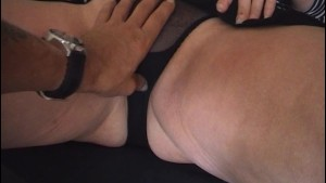 Amateur British Milf lifts her skirt to show her tight panties