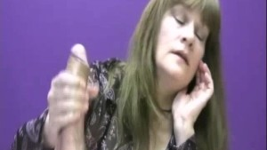 Mrs. Cook controls her cocks