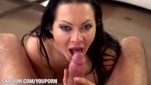 Deepthroating Bitch Sandra Romain