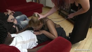 Noomie double penetrated and deepthroated