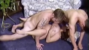 Busty Helena On Threesome 1