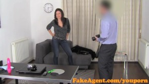 FakeAgent Horny French mistress loves anal
