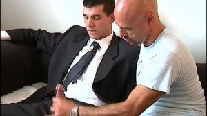 To sign this contract, i want you to let me play with your huge cock !