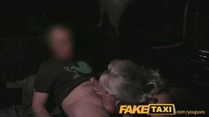 FakeTaxi Mature milf in backseat midnight fun