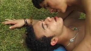 Latino Twinks Getting Their Faces Glazed With Cum