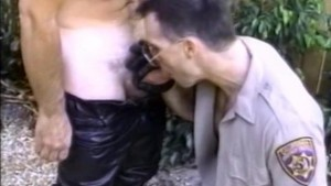 Officer Shows his Cock