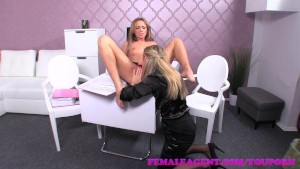 FemaleAgent When agents collide sexual sparks will erupt