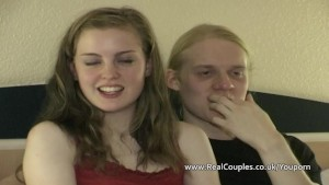Real teen couple Beatrix Bliss and Drew