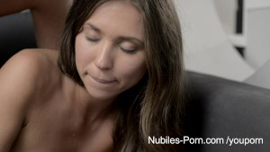 Nubiles Porn - Tiny tit amateur fucked from behind