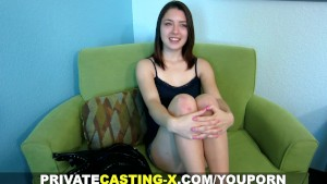 Private Casting X - Money makes her cheat on a perfect guy