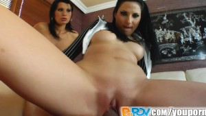 Pure Pov It s bad girl vs good cop in role play pov