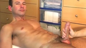 Good massage to huge cock !