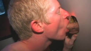Blonde Boy Blows Glory Hole Boners!