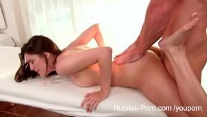Nubiles Porn - Coed hottie fucked deep
