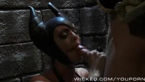 A Truly Maleficent blowjob