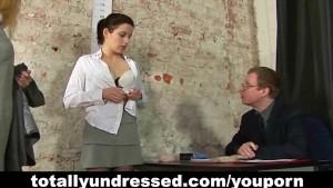 Kinky job interview