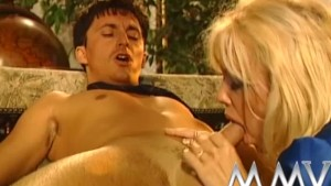 MMV Films Kelly Trump anal and a facial