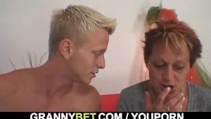 Hot looking guy bangs granny neighbour
