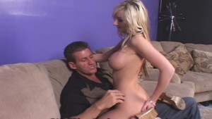 Hot Blonde Teen Pleases Older Guy