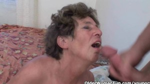Grandma will drain your balls