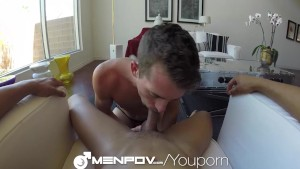 HD - MenPOV Bet winner gets the blow job
