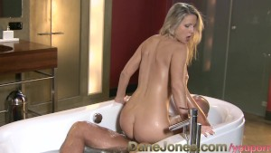 DaneJones Romantic bathroom fuck with hot blonde