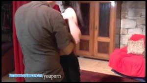Tempting lapdance by 18yo czech teen