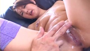 Busty Asian doll feels eager to fuck