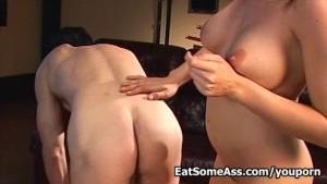 Filthy Slut Sindy Lange Loves Eating Ass for a Nice Facial