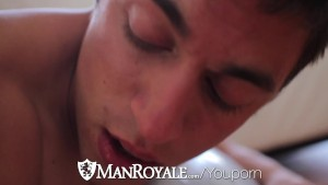 HD ManRoyale - Cute guy has his ass pounded