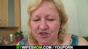 Wife sees her huge mother ride his cock