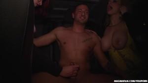 MAGMA FILM Huge tits slut Sucking a stranger