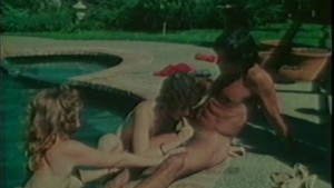 Hey That Guy Has A Pool And Two Women! - Classic X Collection
