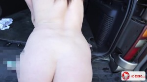 Big Titty Teen Pornstar Delilah Blue Hardcore Sex In The Car HD