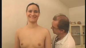 Doctor Inspects His Female Patient Naked