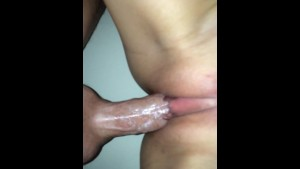 New Zealand hottie and creampie