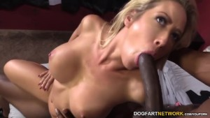 Capri Cavanni Fucking Two Big Black Cocks