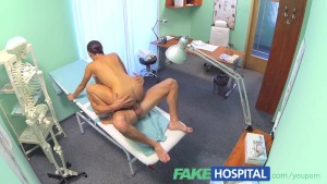 FakeHospital Ripped stud gets the naughty nurses special treatment