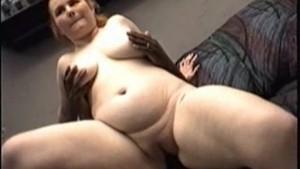 Busty amateur Fiona sucking black cock